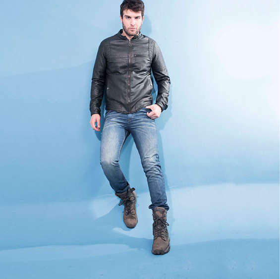 Chaquetas cuero kenzo jeans