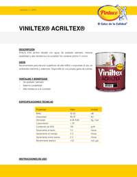 Viniltex Acriltex