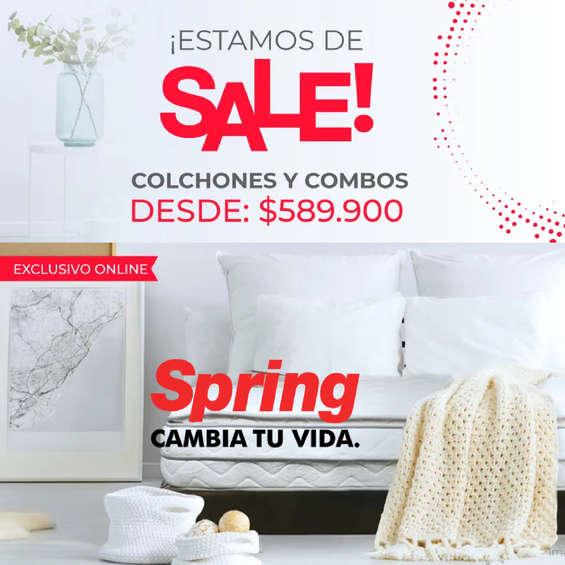 Ofertas de Colchones Spring, SALE!