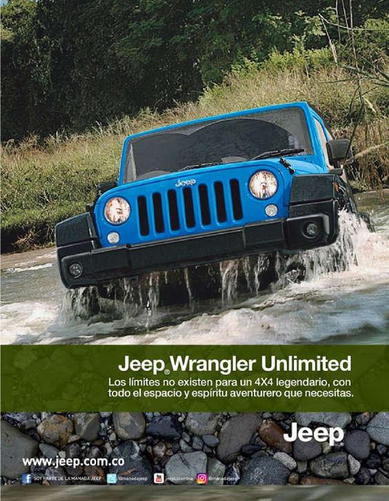 Ofertas de Jeep, Wrangler Unlimited