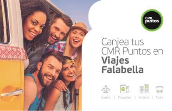 Ofertas de Viajes Falabella, Canjea tus CMR Puntos en Viajes Falabella