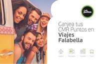 Canjea tus CMR Puntos en Viajes Falabella