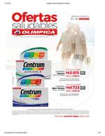 Ofertas de Droguería Olímpica, Catálogo Ofertas Saludables Olímpica