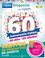 Ofertas de Droguerías Cafam, 60 Aniversario Cafam - Cientos de Productos en Oferta