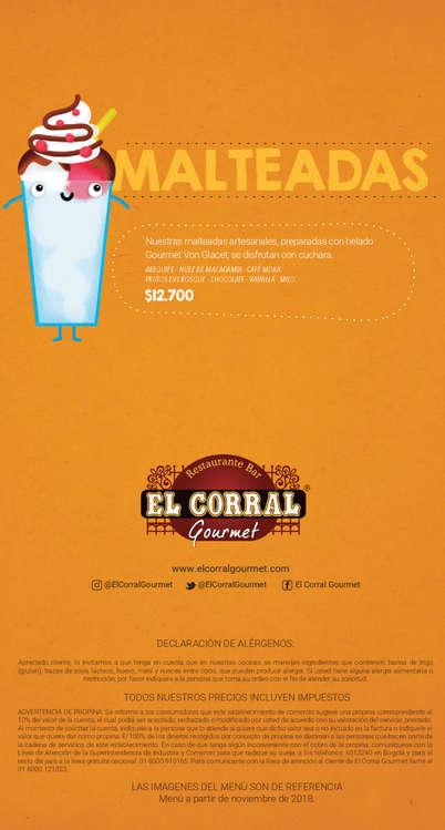 Ofertas de El Corral Gourmet, Kids