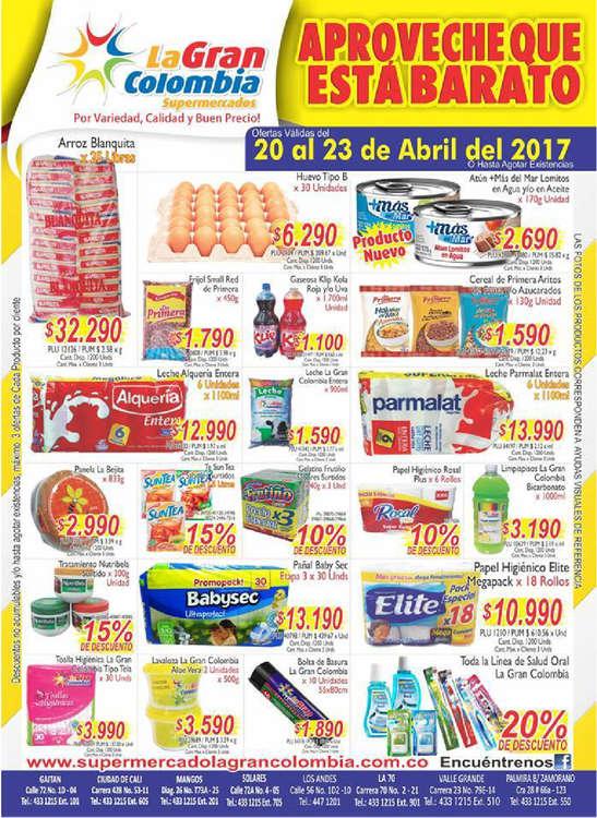 Ofertas de La Gran Colombia, Aproveche que está barato