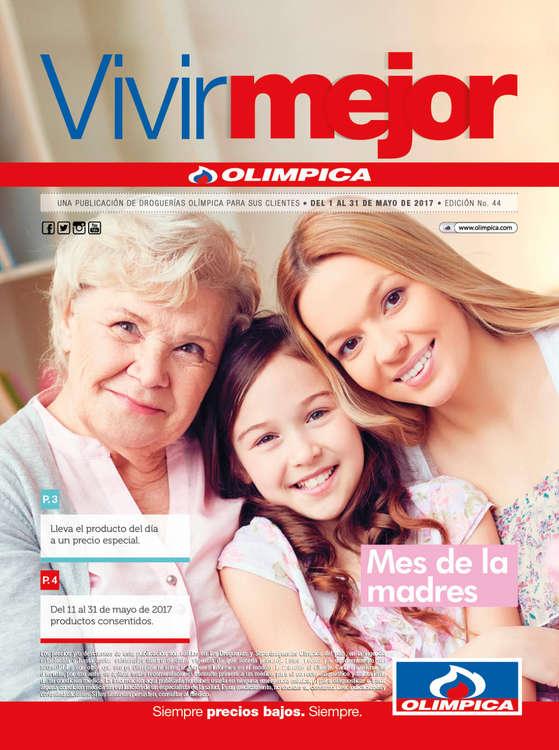 Ofertas de Droguería Olímpica, Catálogo Vivir Mejor - Mes de las madres