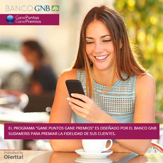 Ofertas de Banco GNB Sudameris, Banco GNB Sudameris_Gane Puntos
