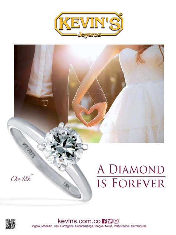 Ofertas de Kevin's Joyeros, Catálago - A diamond is forever
