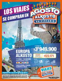 Los viajes se compran en Alkosto - Agosto 2017