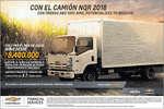 Ofertas de Chevrolet, Camión NQR 2018