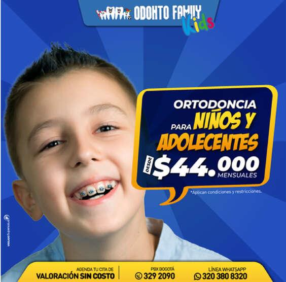 Ofertas de Odonto Family, Odontofamily Kids