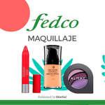 Ofertas de Fedco, Fedco maquillaje