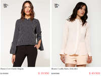 Sale Mujer - Hasta 50%Off