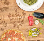 Ofertas de Karen's Pizza, Menú - Desde siempre natural