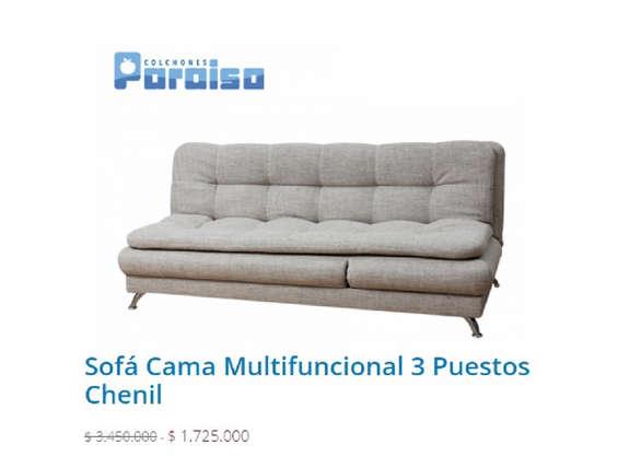 Comprar sof funcional en bogot tiendas y promociones for Sofa cama catalogo