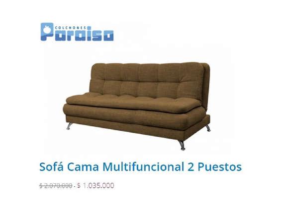 Comprar sof 2 plazas en c cuta tiendas y promociones for Colchones para sofa cama dos plazas