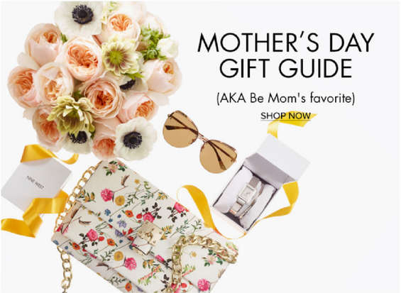Ofertas de Nine West, Día de la madre - Mother's day gift guide
