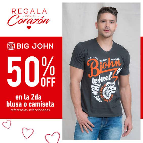 Ofertas de Big John Wear, Regala con el corazón - 50%Off