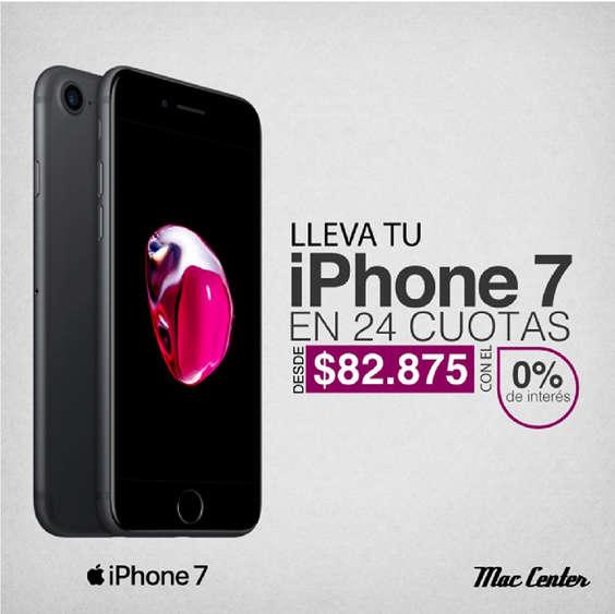 Ofertas de Mac Center, Iphone 7