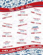 Ofertas de Almacenes Only, Catálogo Día del Padre