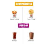 Ofertas de Burger King, Menú
