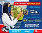 Ofertas de Expresos Brasilia, Operamos con normalidad
