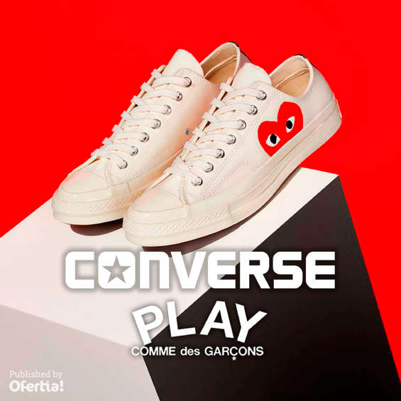Ofertas de Converse, Play. Comme des Garçons