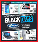 Ofertas de KTronix, Black Days
