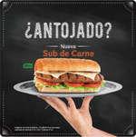 Ofertas de Subway, Nuevo Sub de carne
