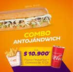 Ofertas de Sandwich Qbano, Combo Antojándwich