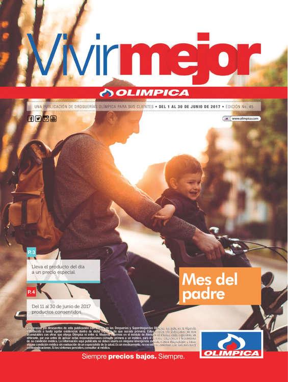 Ofertas de Super Droguerías Olímpica, Revista Vivir Mejor - Mes del padre