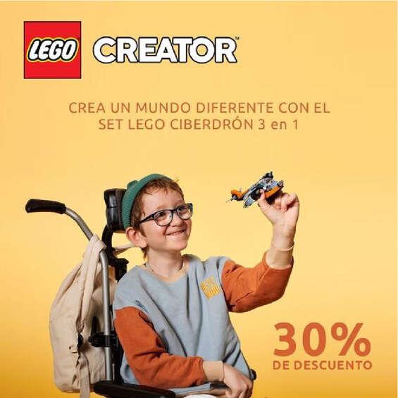 Ofertas de Lego Store, Promoción Creator
