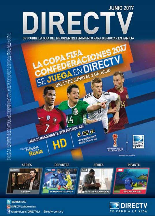 Ofertas de DirecTV, Boletín Junio 2017