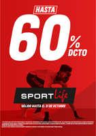Ofertas de Sport Life, Promoción - Hasta 60% DCTO en referencias seleccionadas