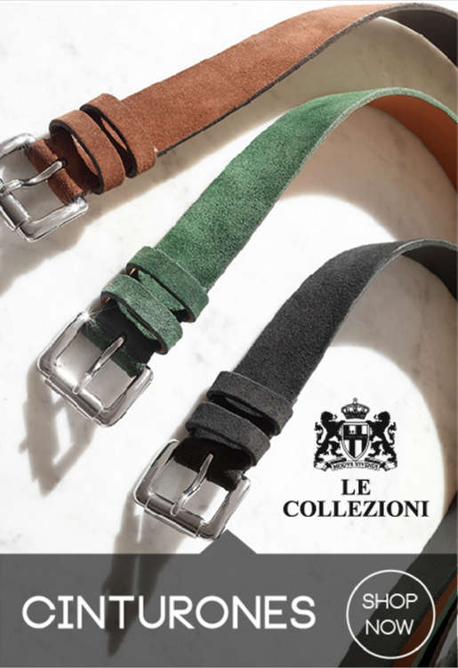 Ofertas de Le Collezioni, Cinturones