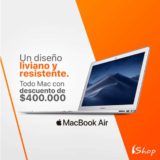 Ofertas de Ishop, Mac