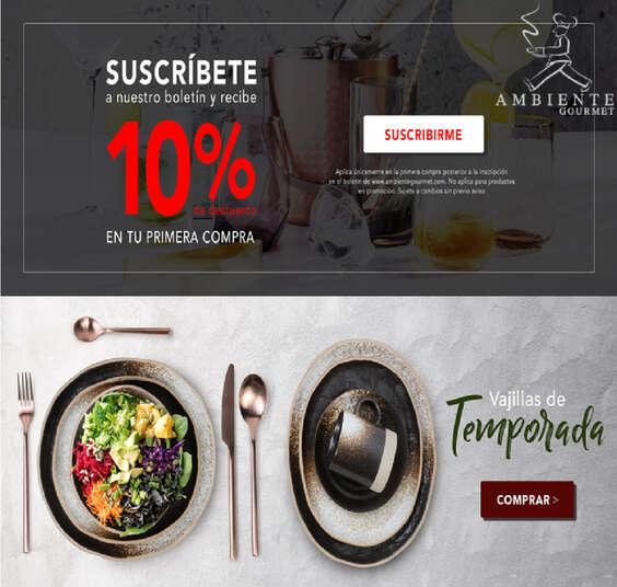 Ofertas de Ambiente Gourmet, Ambiente Gourmet
