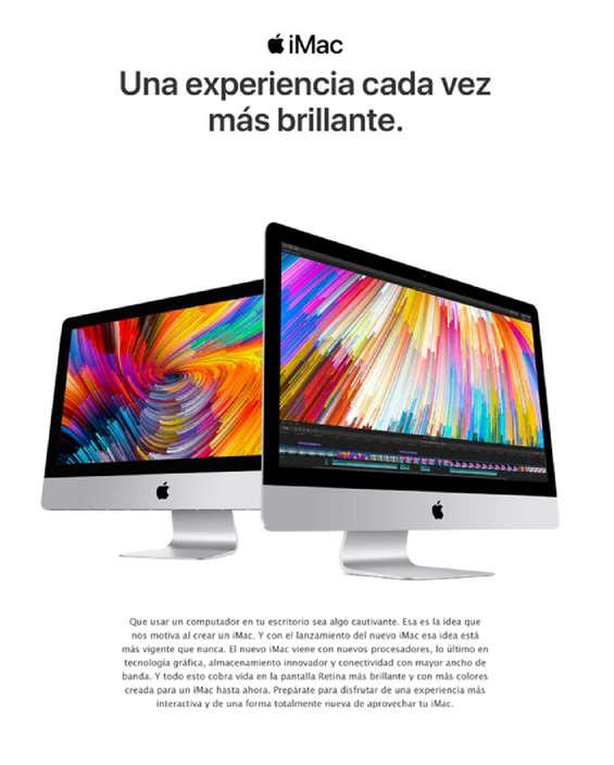 Ofertas de Mac Center, iMac - Una experiencia cada vez más brillante