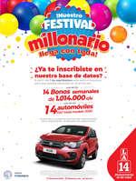 Ofertas de La 14, Festival Millonario