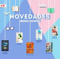 Novedades Librería Nacional