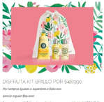 Ofertas de L'occitane, Kit Brillo