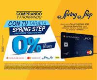 Comprando y ahorrando con tu tarjeta Spring Step