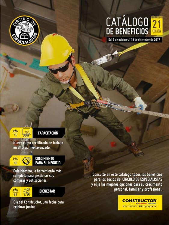 Ofertas de Constructor, Catálogo de Beneficios Ed. 21