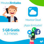 Ofertas de Movistar, 5GB Gratis