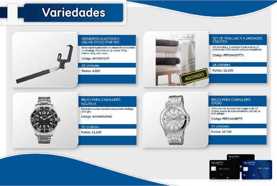 Ofertas de Colpatria, Catálogo black signature
