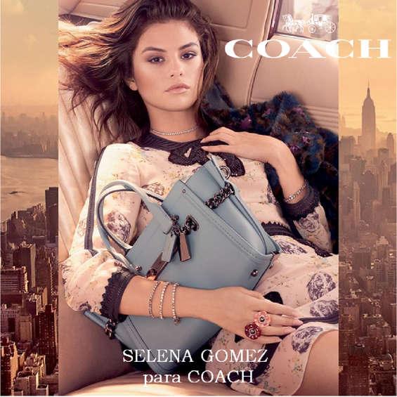 Ofertas de Coach, Selena Gomez para Coach