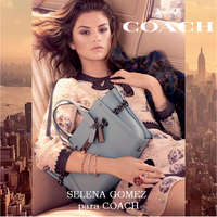 Selena Gomez para Coach
