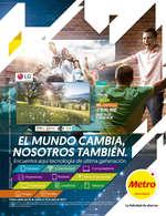 Ofertas de Metro, Catálogo de tecnología - El mundo cambia, nosotros también