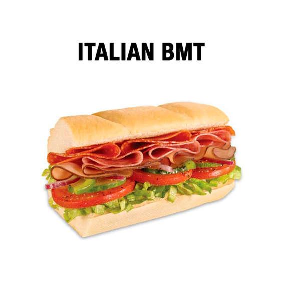 Ofertas de Subway, Sandwiches